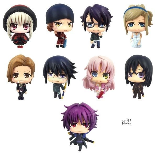 1x K Missing Kings Project anime movie figure strap color colle charm
