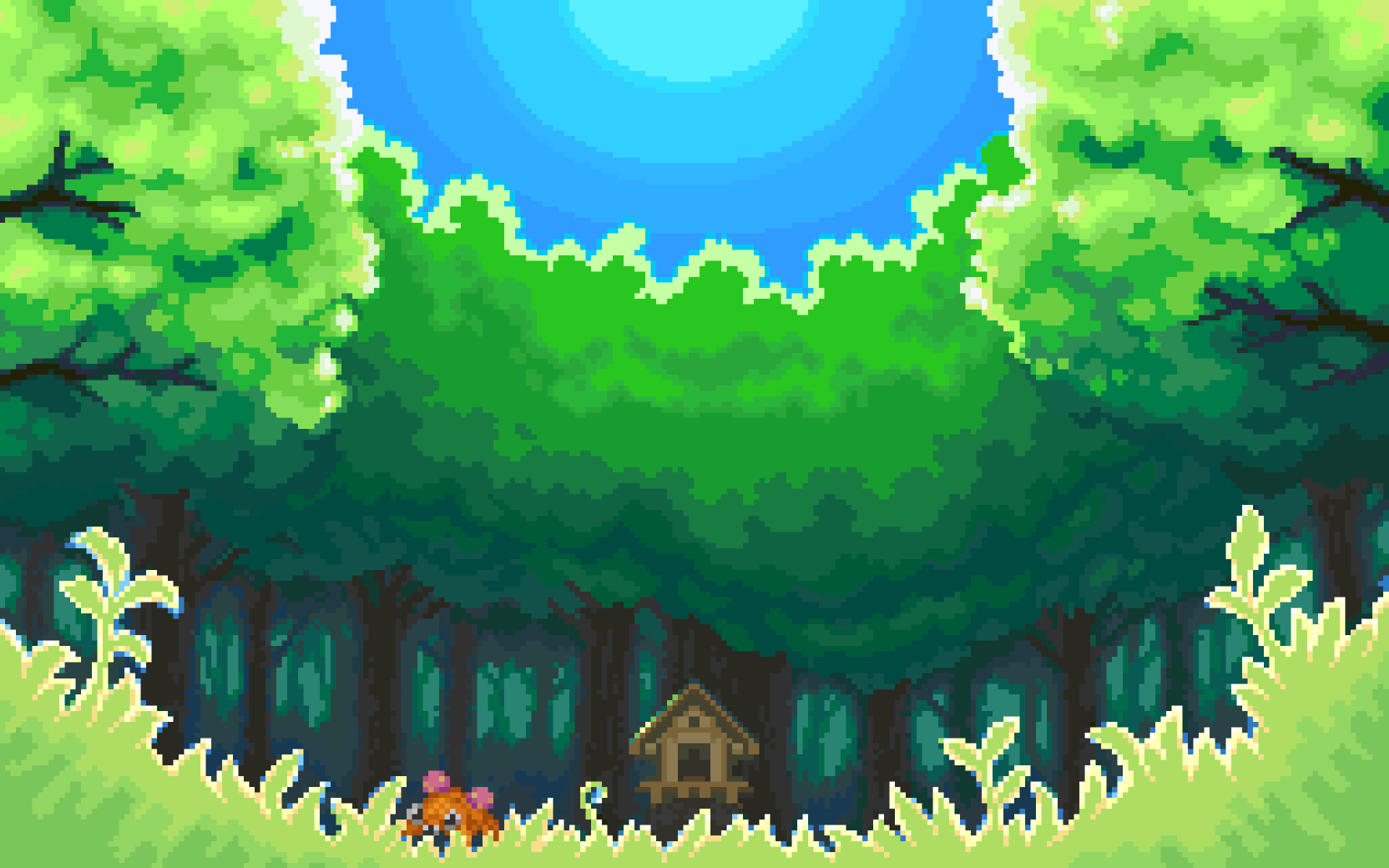 video Games, Pixel Art Wallpaper | art // wallpapers ...