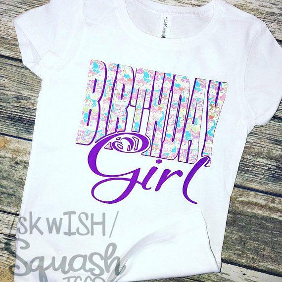 Birthday Girl Shirt Cupcake