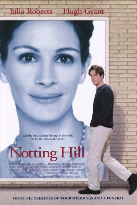 Notting hill cinema pinterest et - Streaming coup de foudre a notting hill ...