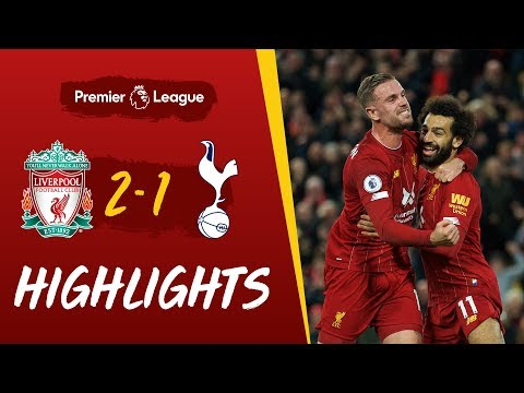 Liverpool 2 1 Spurs Late Salah Penalty Wins It For Reds Highlights Youtube Liverpool Highlights Match Highlights