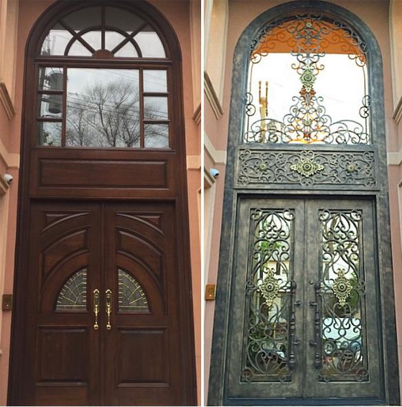 Taranto | Manhattan Iron Doors #manhattanirondoors #irondoors #metaldoors #newyork #nyc #manhattan #luxury #custom #entryway #design #architecture #houzz #pinterest #customdesign