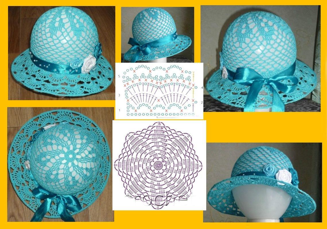 Pin de Barb Moore en Crochet for children | Pinterest | Sombreros de ...
