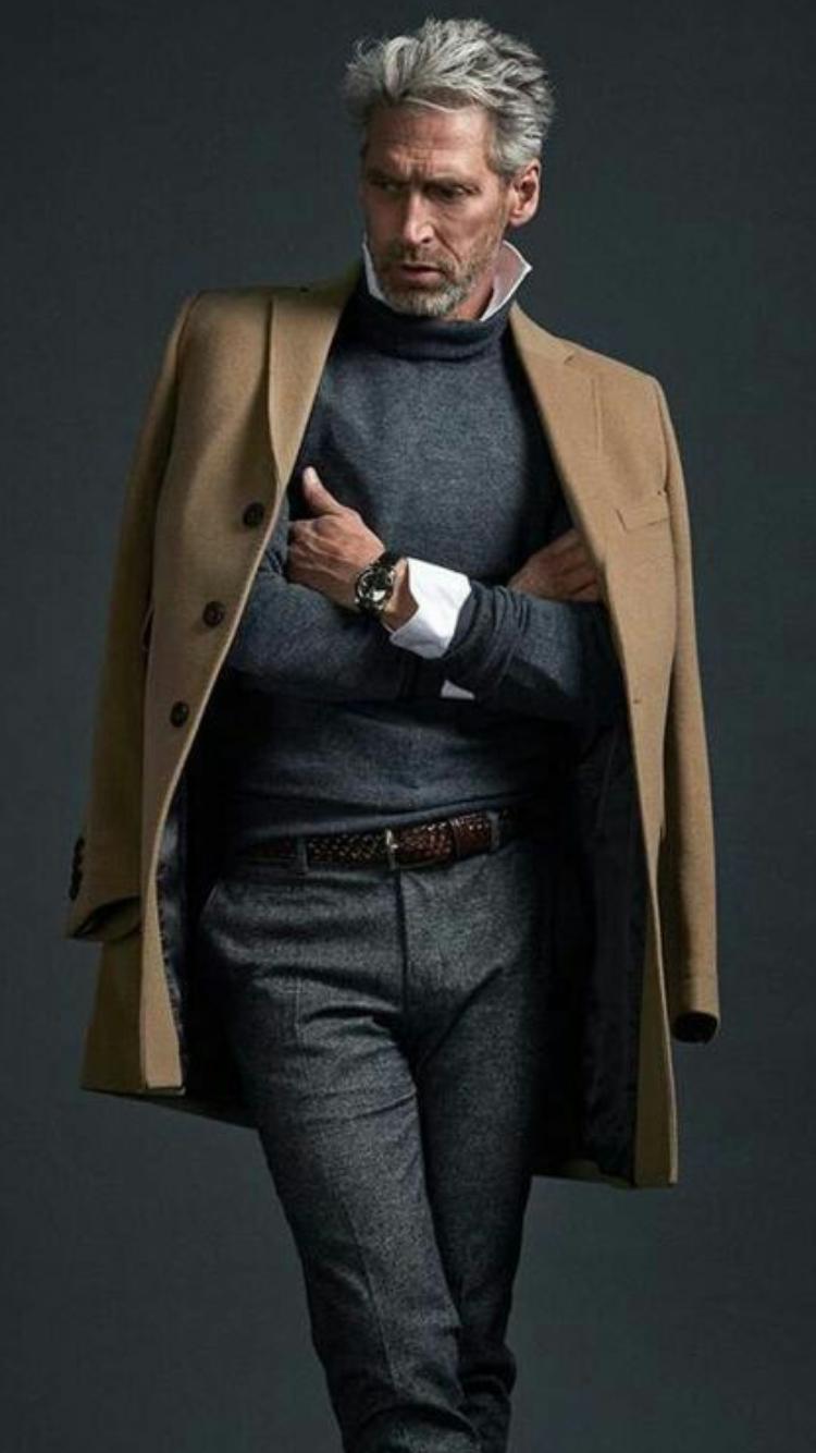 Pin De Kenyi Jimenez En Outfits Pinterest Moda Masculina Moda - Moda-para-hombres-maduros