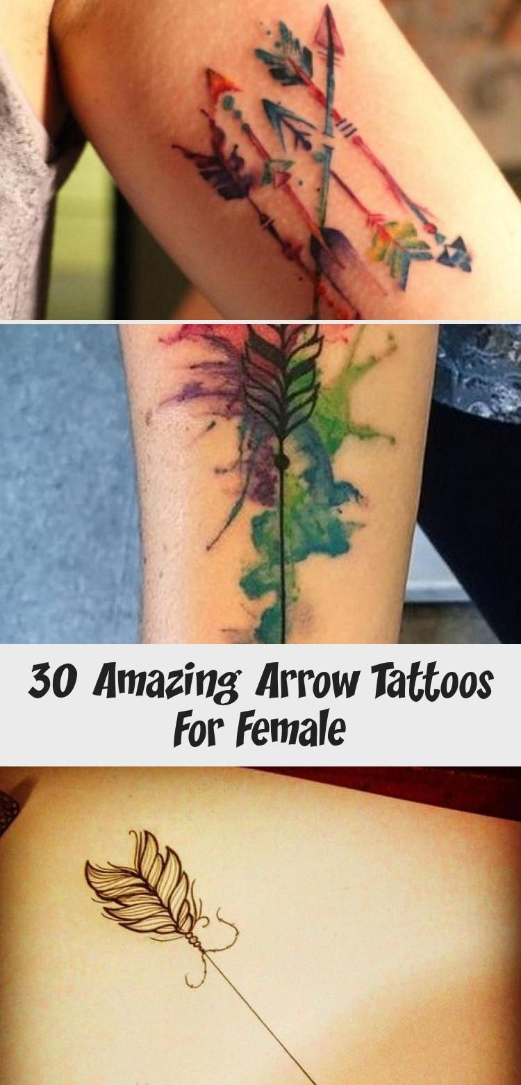 30 Amazing Arrow Tattoos For Female – Tattoo –  Arrows are quickly becoming some of the most popular designs for tattoos. With all the different st – …