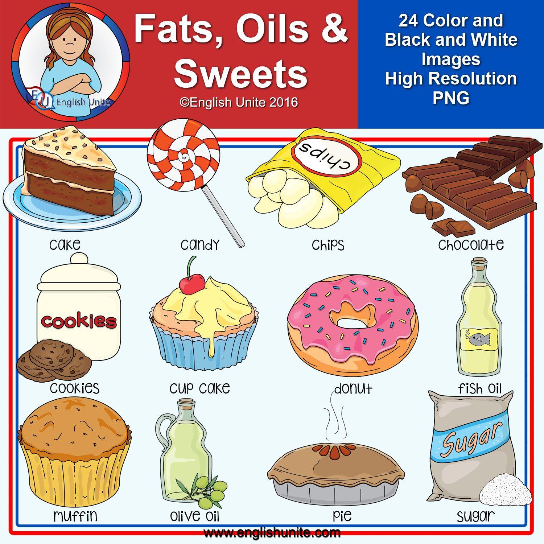 Clip Art Fats Oils And Sweets English Unite Clip Art Black Wallpaper Iphone Kids Clipart