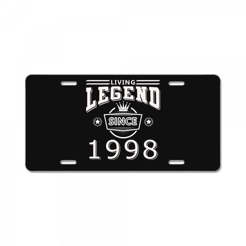 living legend since 1998. Create your own and amazing license plate! select a perfect art for you and enjoy now.-Size: 12″ X 6″ (standard plate size)-Material: Reinforced Plastic / Acrylic.