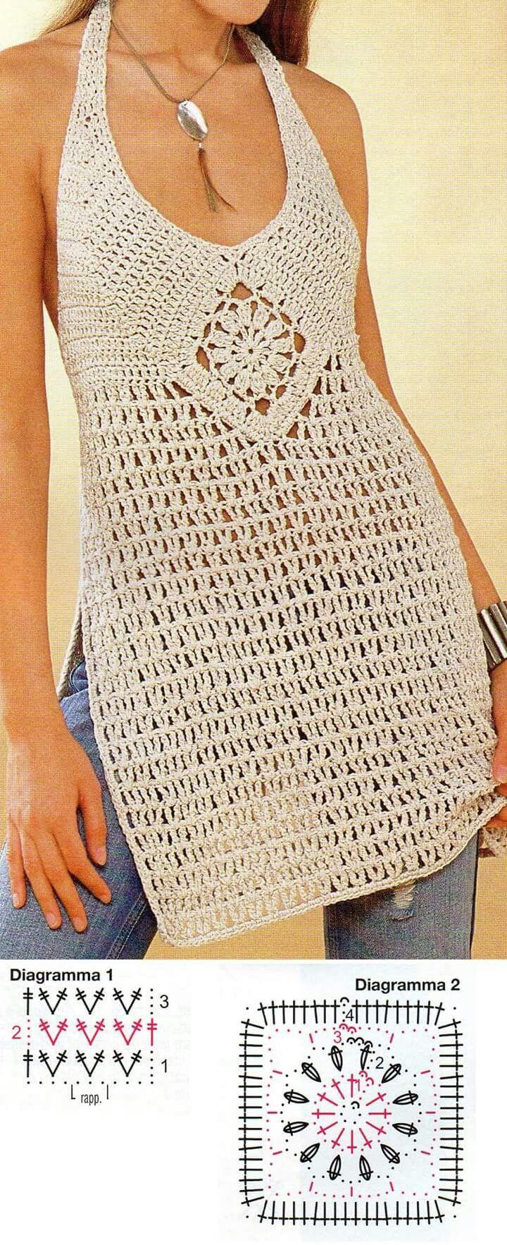 Hermosa Los Patrones De Crochet Libre Para Las Tapas De Las Mujeres ...