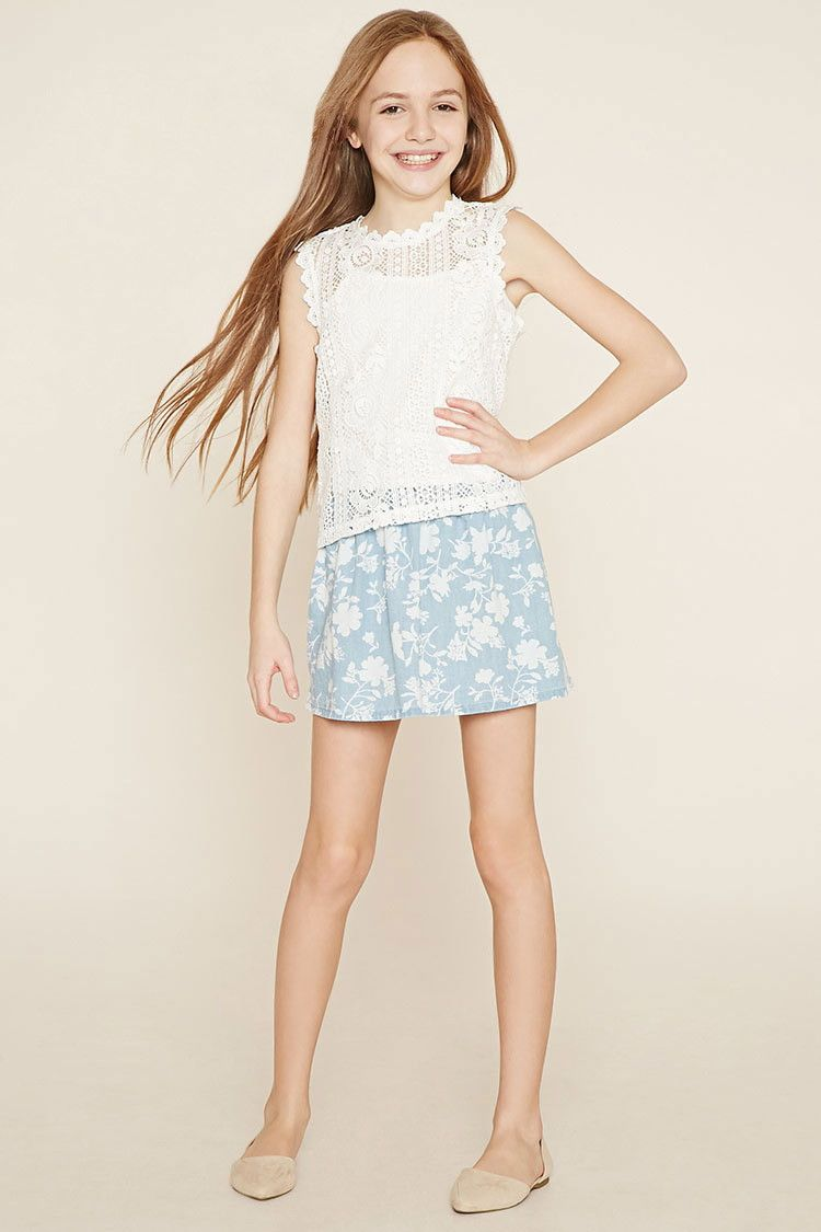 00388b12bf77 Girls Floral Skirt (Kids)