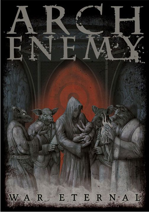Arch Enemy War Eternal Poster Flag For 20 00 Http Www Jsrdirect