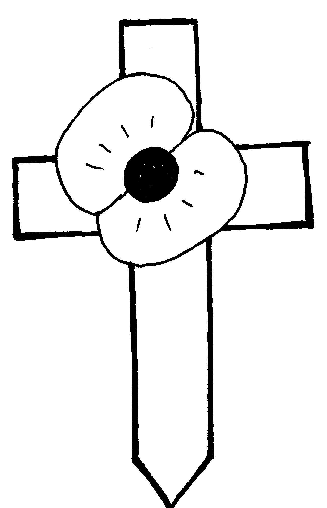 37 awesome memorial day poppy clipart [ 1334 x 2071 Pixel ]