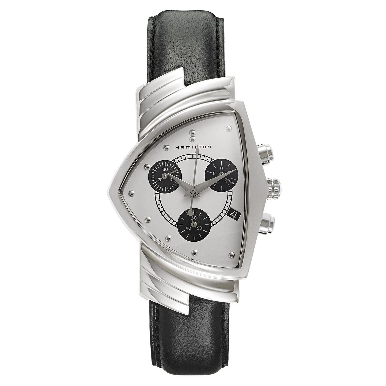 Hamilton Men's Ventura H24412712 Stainless-steel and Watch