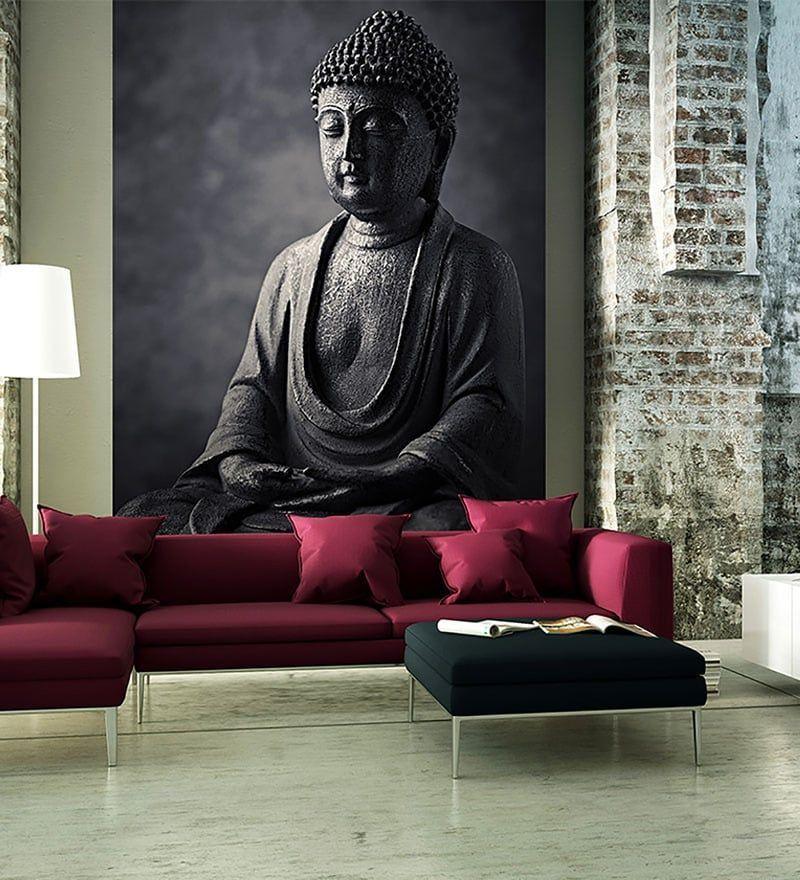 12 Magnetic Interior Painting Warm Ideas Buddha Wall Art Buddha Decor Stone Buddha Statue