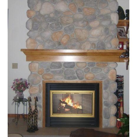 Brookfield Prefab Fireplace Door Overlap Fit On All 4 Sides Zero