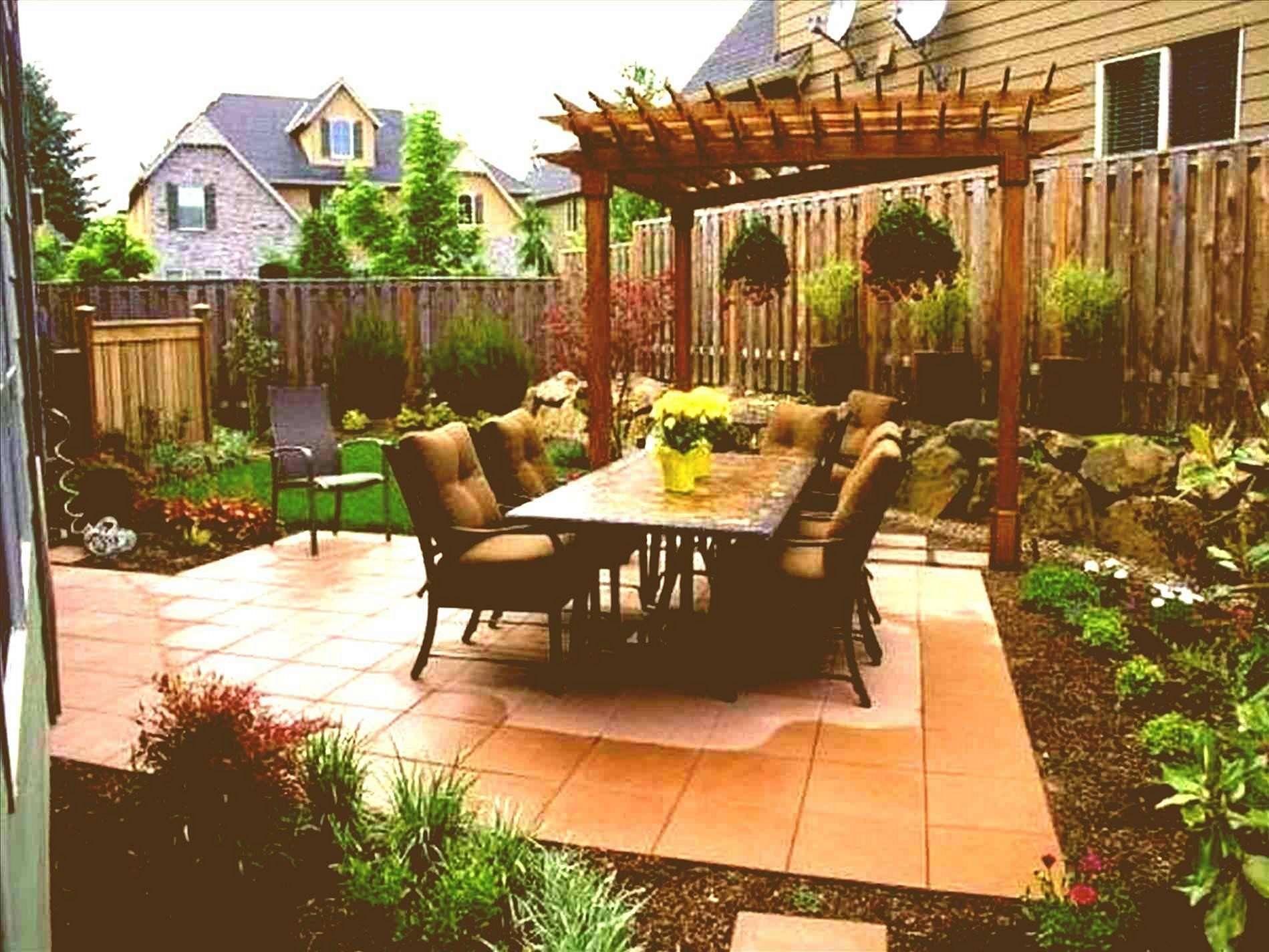 15 Beautiful Backyard Landscaping Ideas To Make Your Happy Small Backyard Landscaping Easy Backyard Landscaping Backyard Landscaping Townhouse backyard ideas no grass
