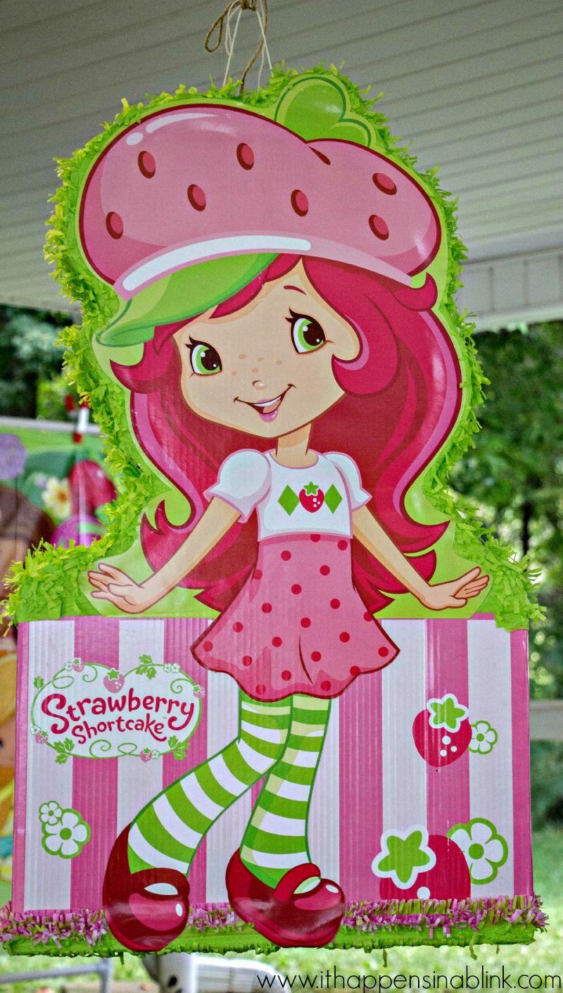 Strawberry Shortcake Pinata | fresita | Pinterest | Piñatas, Fiestas ...