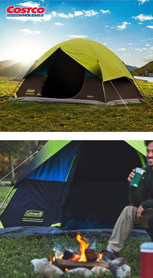 outlet store dbc1e dba1e Coleman 6 Person Dark Room Fast Pitch Dome Tent | Outdoor ...
