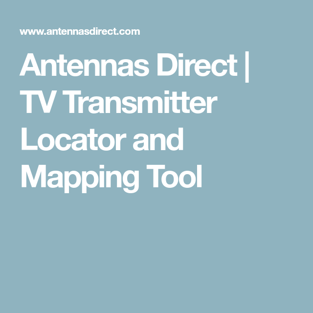 Welcome to our Antenna Selector! Enter your zip code to find the