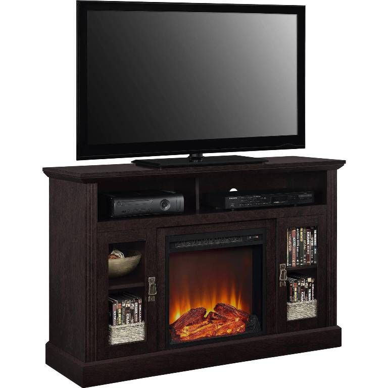 fireplace classic fireplace tv stand at walmart from perfect fireplace tv console - Walmart Entertainment Center Tv Stands