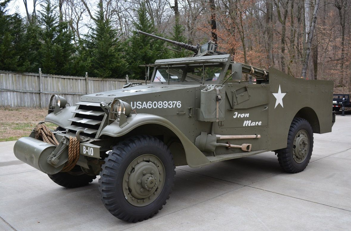 M3A1 Scout Car | eBay | Adrenaline Capsules | Pinterest | Armored ...