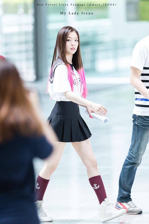 9 Female Idols With Perfect Proportions Despite Being Short Koreaboo Red Velvet Irene Red Velvet Velvet Hair