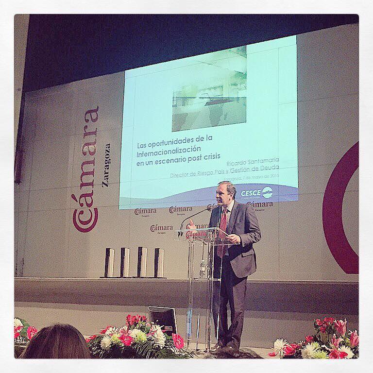 """Ricardo Santamaría, nuestro Director de Riesgo País, expuso las """"Oportunidades de la internacionalización en un escenario post-crisis"""""""