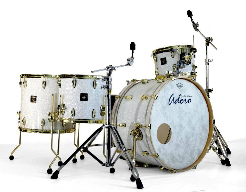 adoro custom drums drums in 2019 drums acoustic drum drum kits. Black Bedroom Furniture Sets. Home Design Ideas