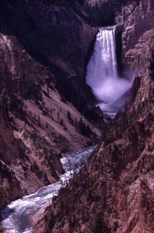 Yellowstone Falls Rainbow (Yellowstone National Park