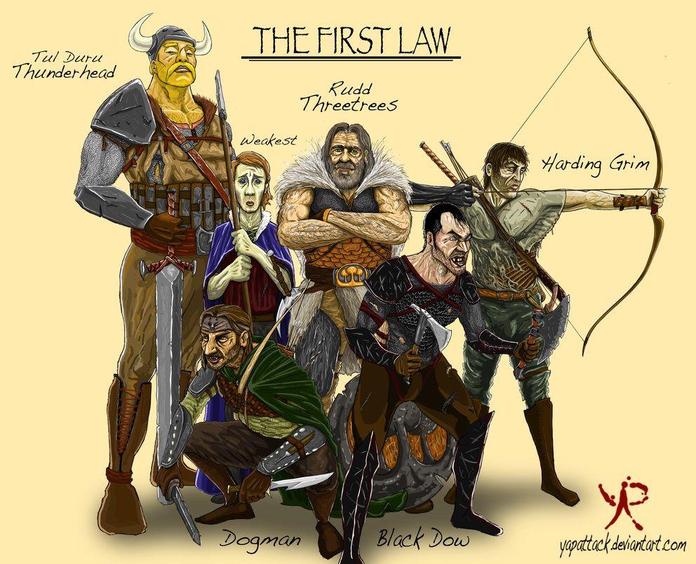 Первый закон джо аберкромби картинки