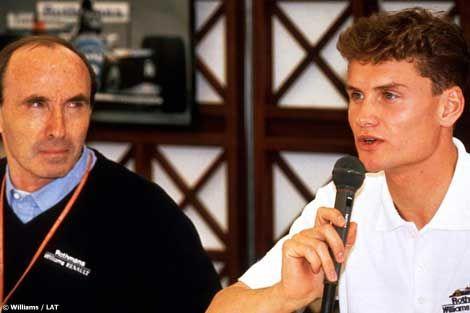 Frank Williams, David Coulthard, Barcelona, 1994,