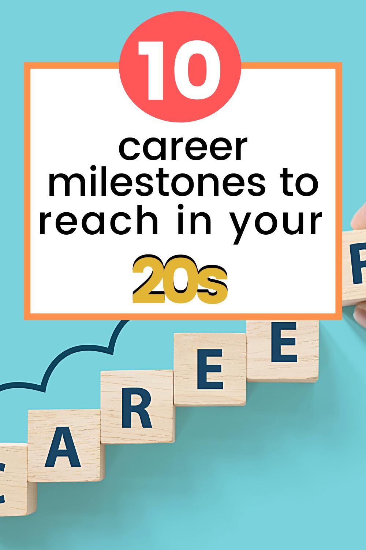 10 Career Milestones To Reach In Your 20s Gentwenty Career Advice Career Career Growth