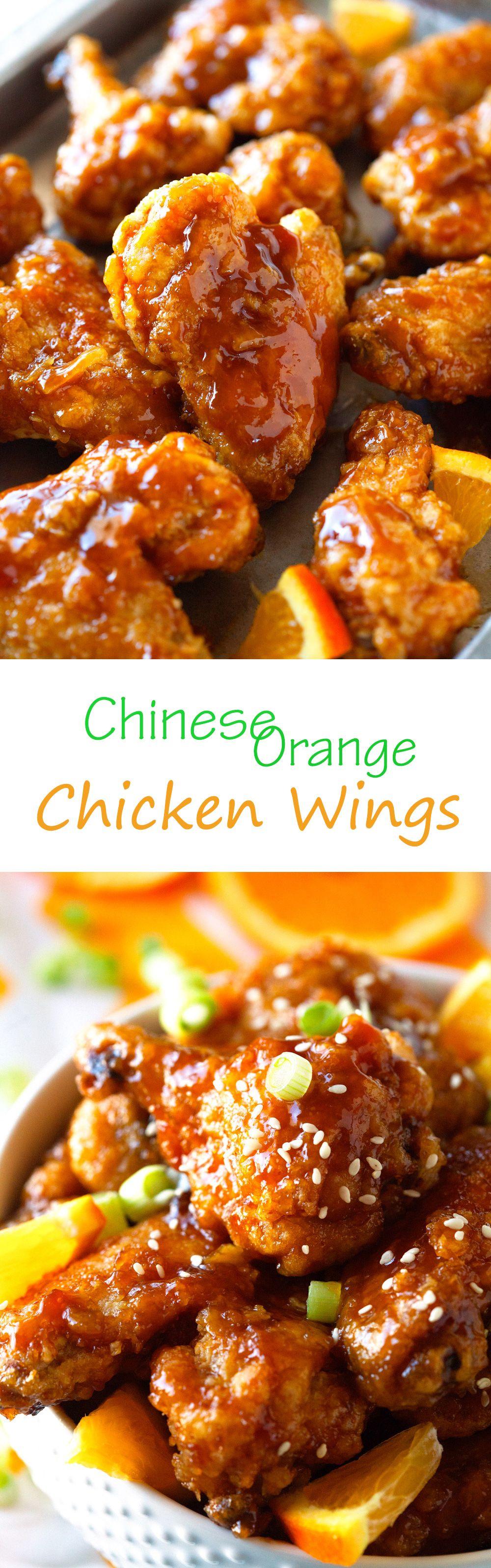 Chinese orange chicken wings recipe chinese dishes