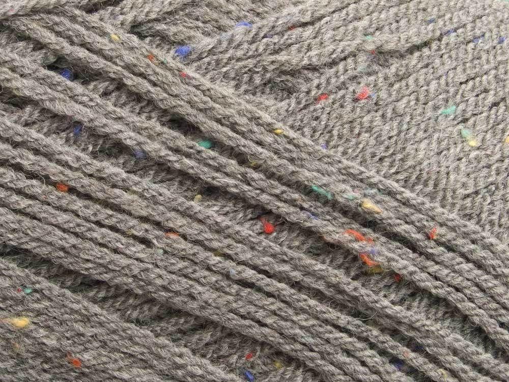 I really need this wool, but what to make?------ Sirdar Hayfield Bonus Aran Tweed 794 Limestone Grey in Crafts, Knitting, Wool & Yarn | eBay