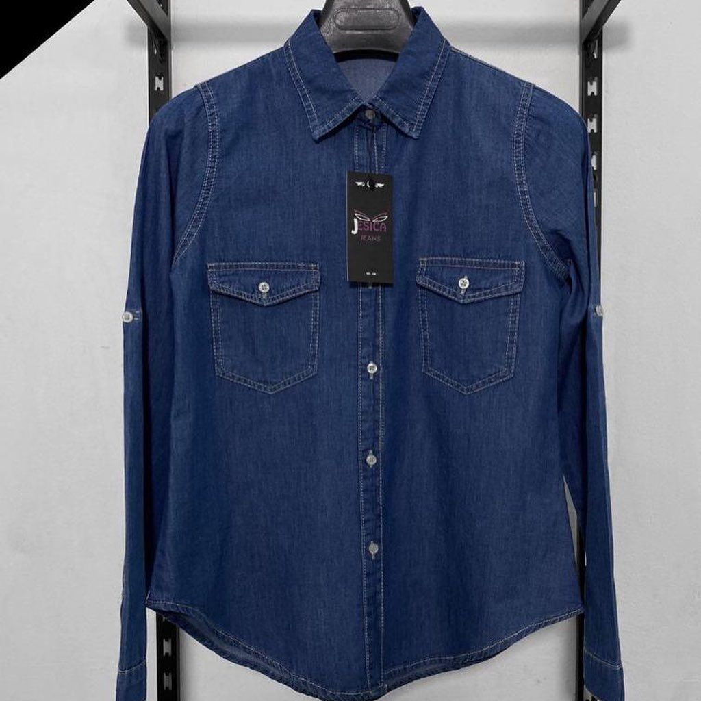 Lycra Store On Instagram Chemsie Jeans Available Now At Lycra For 200 L E Up Shirt Denim Button Up Fashion