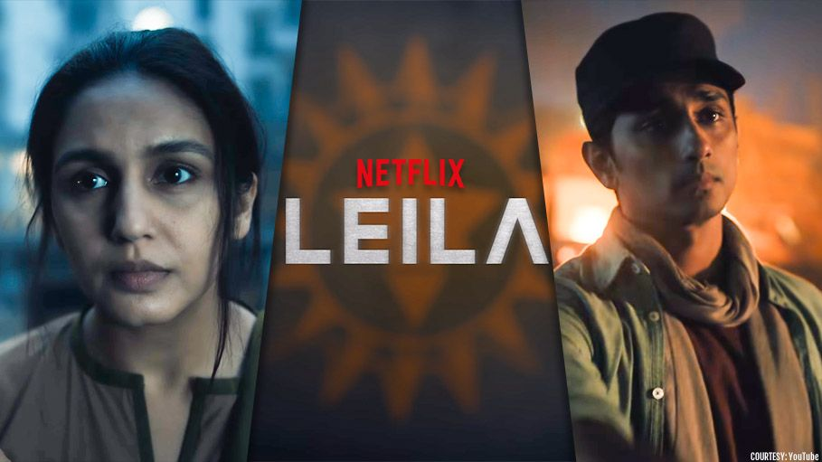 Netflix Leila Is The First Indian Dystopian Series Starring Huma Qureshi Startling And Alarming Dystopian Netflix Celebrity News