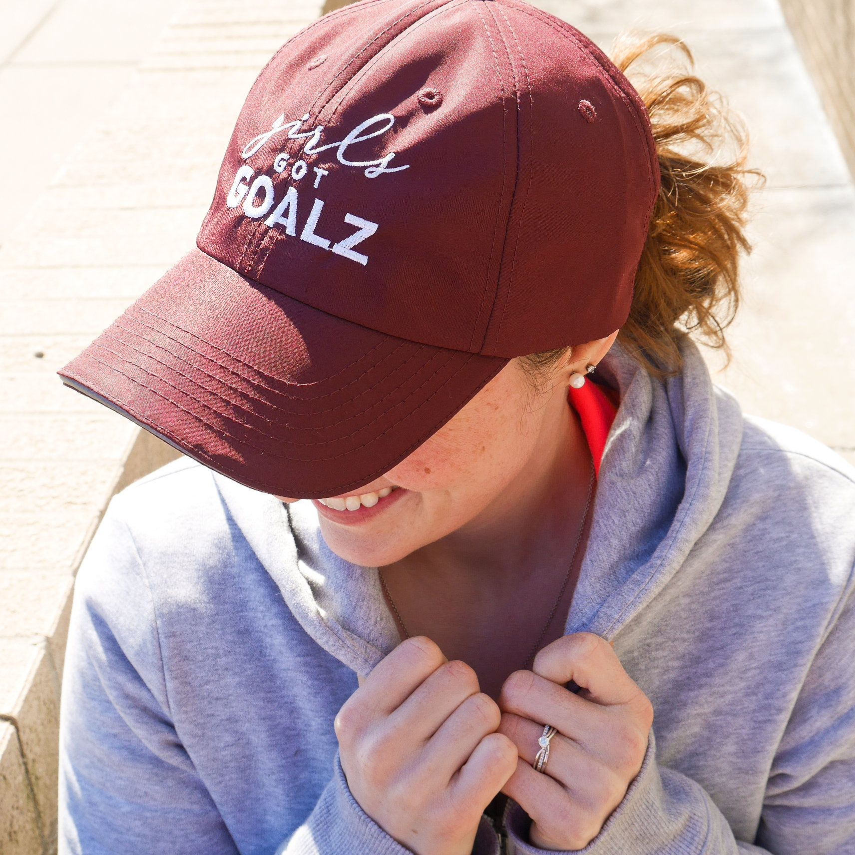 Maroon Workout Hat  2e0633ab0b2