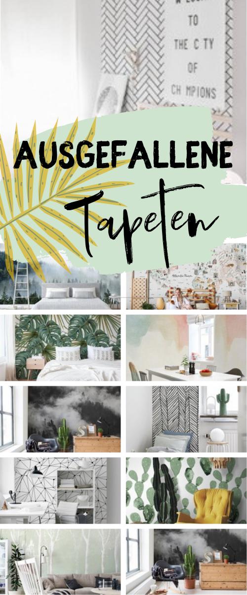 Ausgefallene Tapeten - Räume ausgefallen dekorieren mit ...
