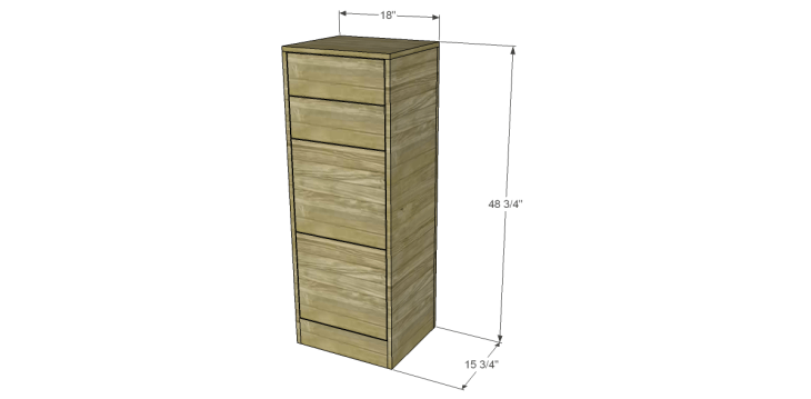Free Furniture Plans To Build A File Cabinet File Cabinet Plans