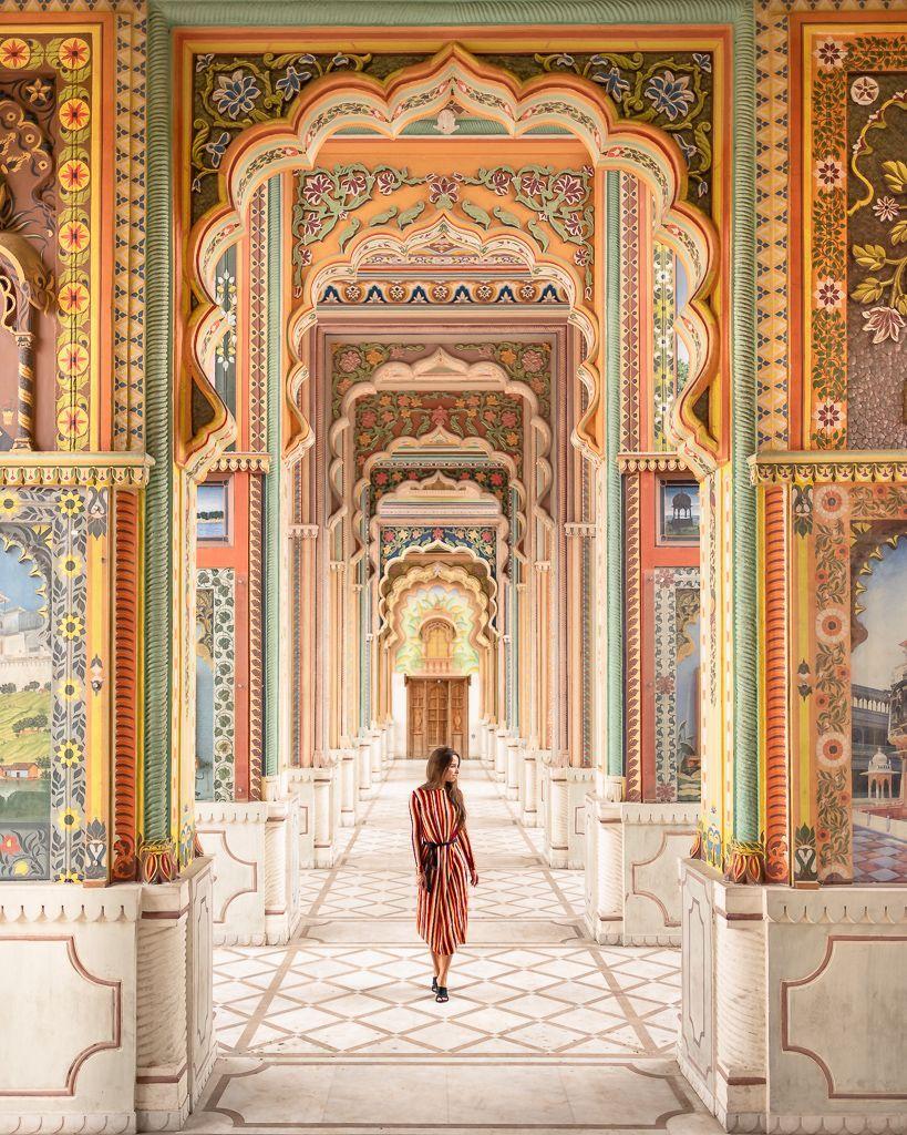 The Colourful Patrika Gate At Jawahar Circle Garden Jaipur ...