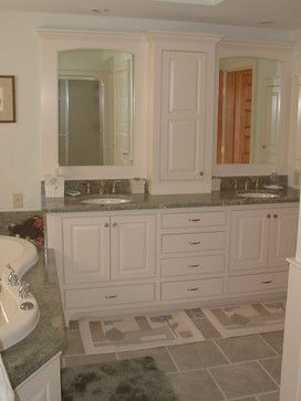 Tower In Center Of Bath Vanity 63 334 Bath Vanity Tower Home