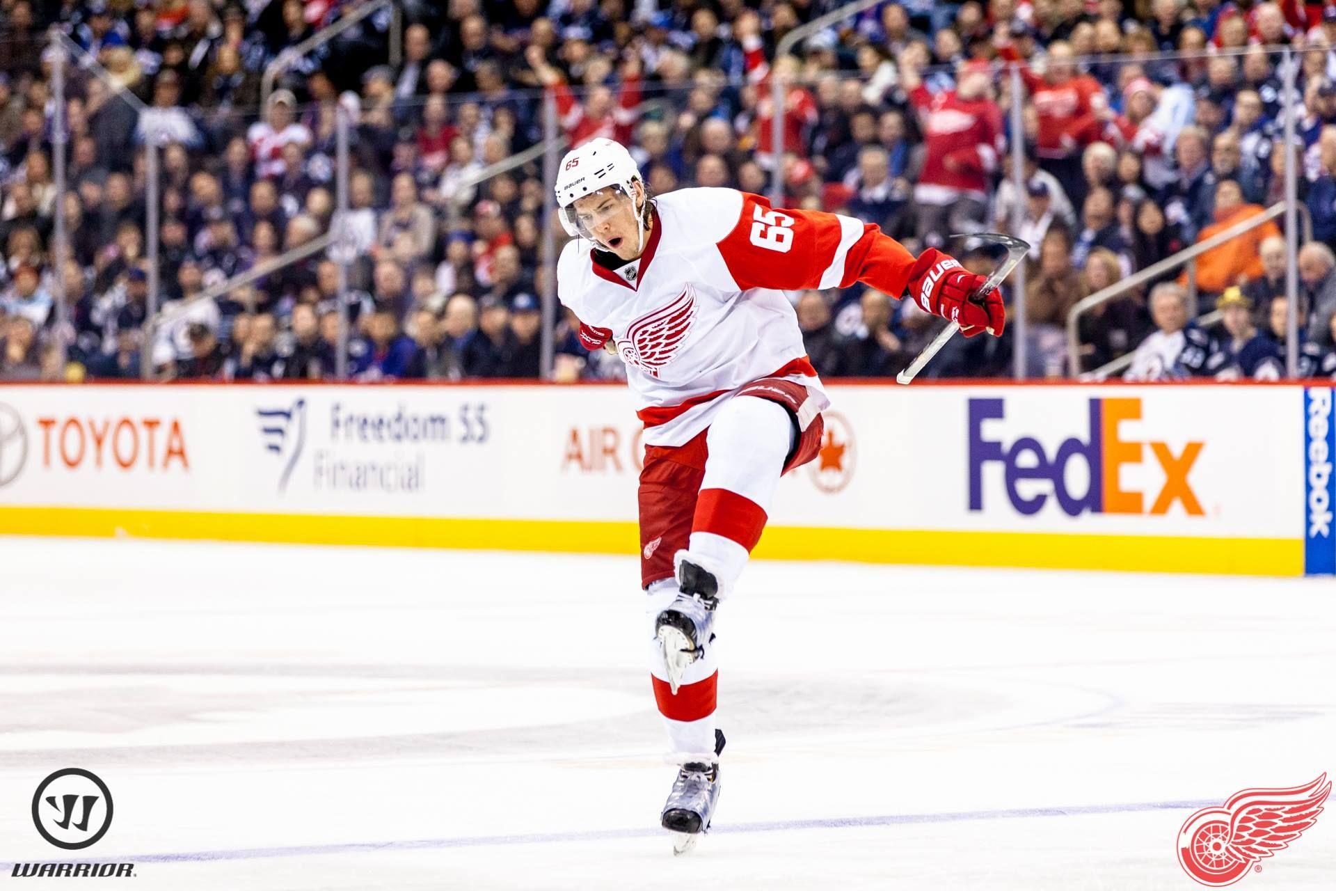 DK's reaction to scoring his 1st NHL goal! (11/4/13