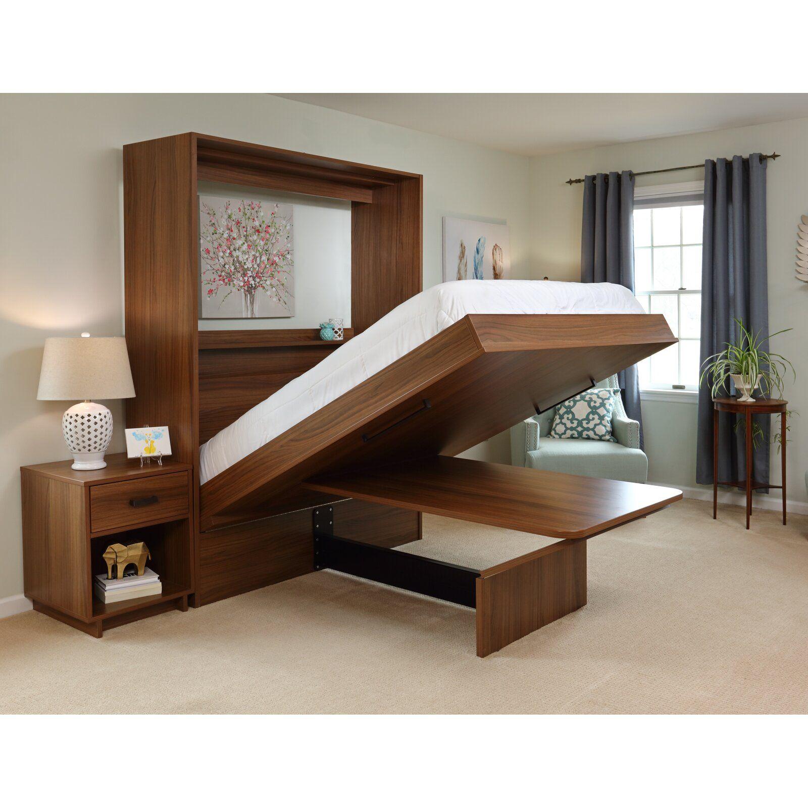 Latitude Run Tess Murphy Bed Modern murphy beds, Murphy