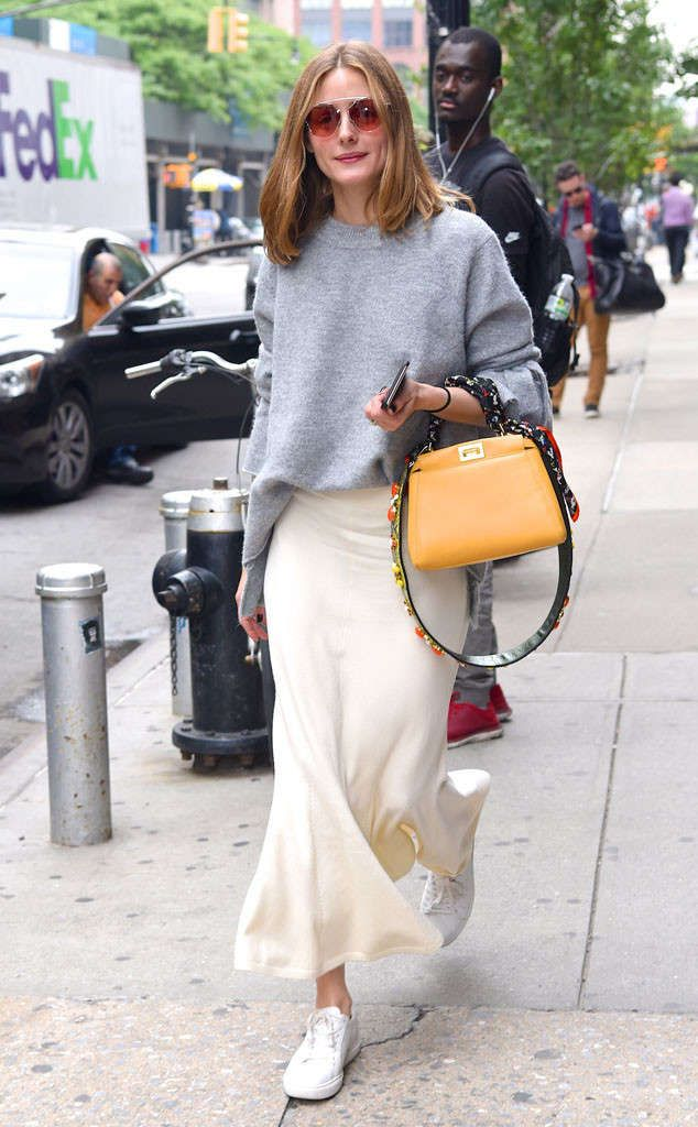 d2eedbe1d306 Fashionista Olivia Palermo carries a Fendi bag while out in  NYC.  instagram   brands