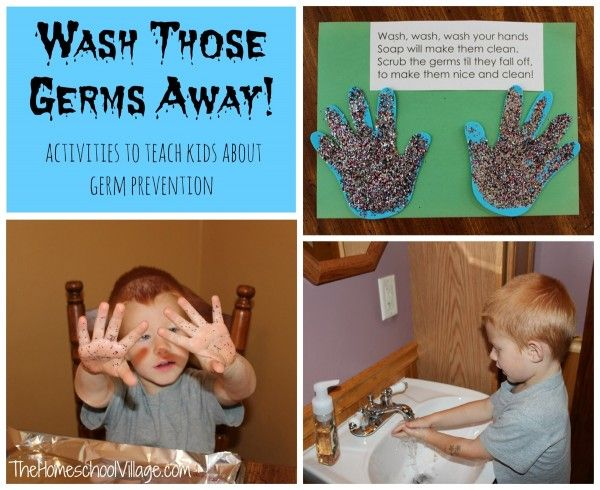 143 Best Teaching About Germs images | Preschool themes ...