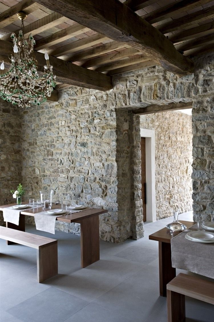 Tower di Moravola Boutique Hotel near the medieval village of Montone in Italy by Studio Mackenzie-Chong Design