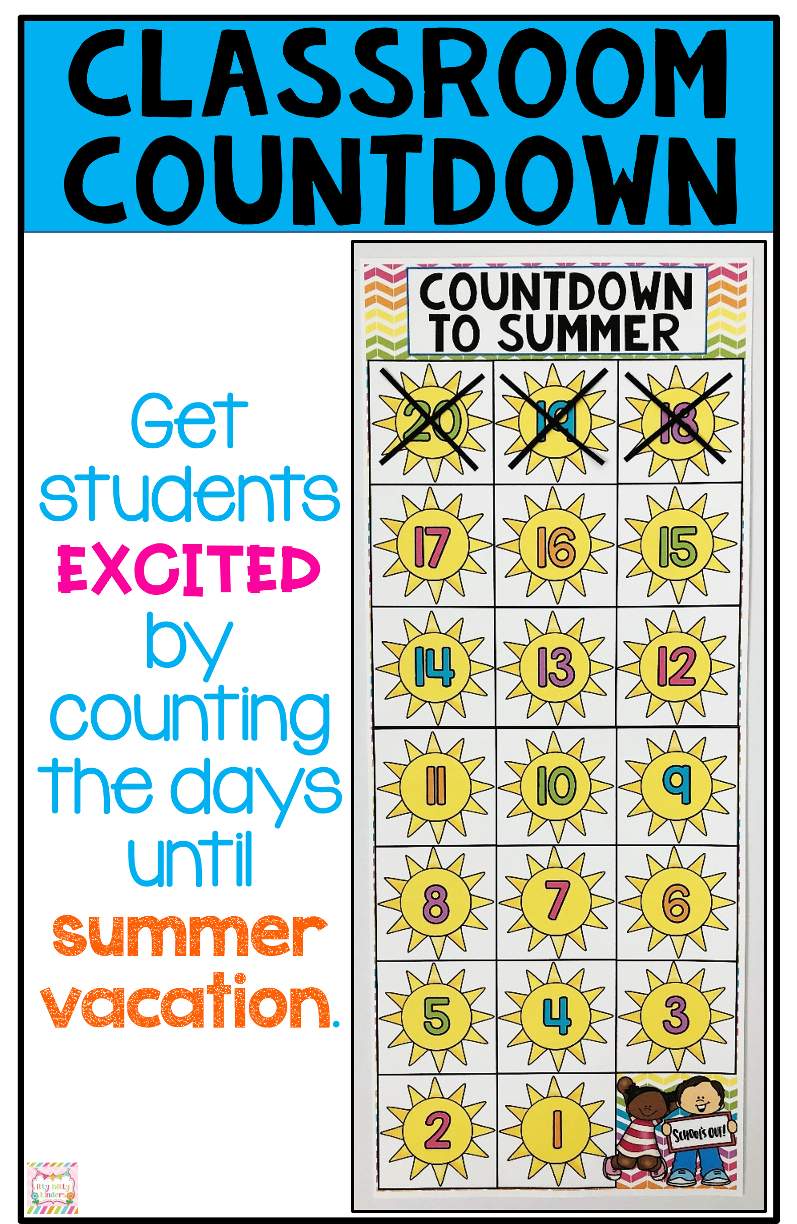 End Of Year Last Days Of School Summer Memory Book