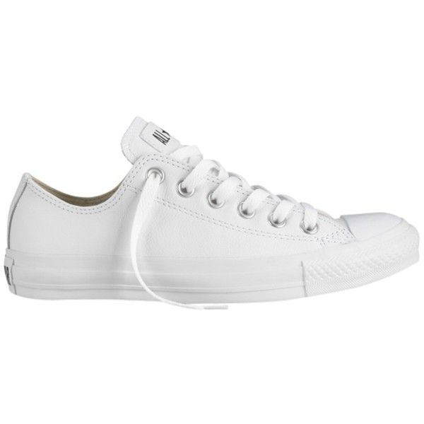 634277fc9f61 Converse Chuck Taylor All Star Ox Leather Trainers