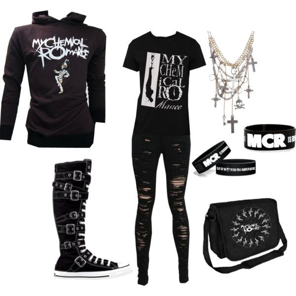 Gothic/ Emo Girl OOTD | Cute emo outfits, Emo clothes for ... |Emo School Clothes For Girls