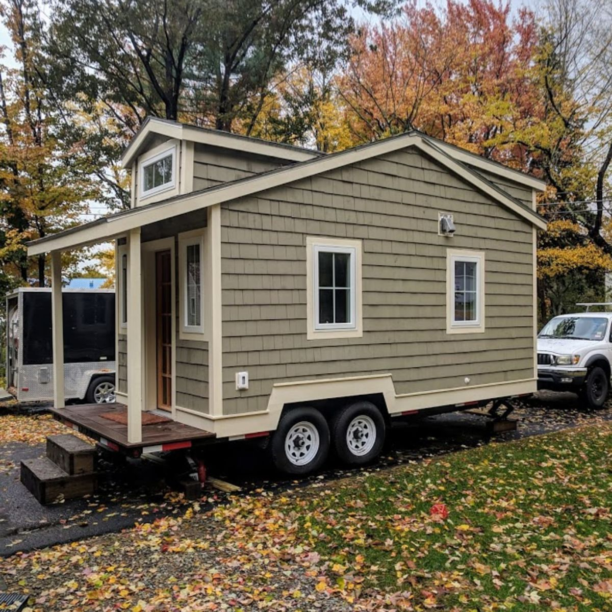 Phenomenal 20 Ft Craftsman Style Tiny House Nh Tiny House For Sale Home Interior And Landscaping Oversignezvosmurscom