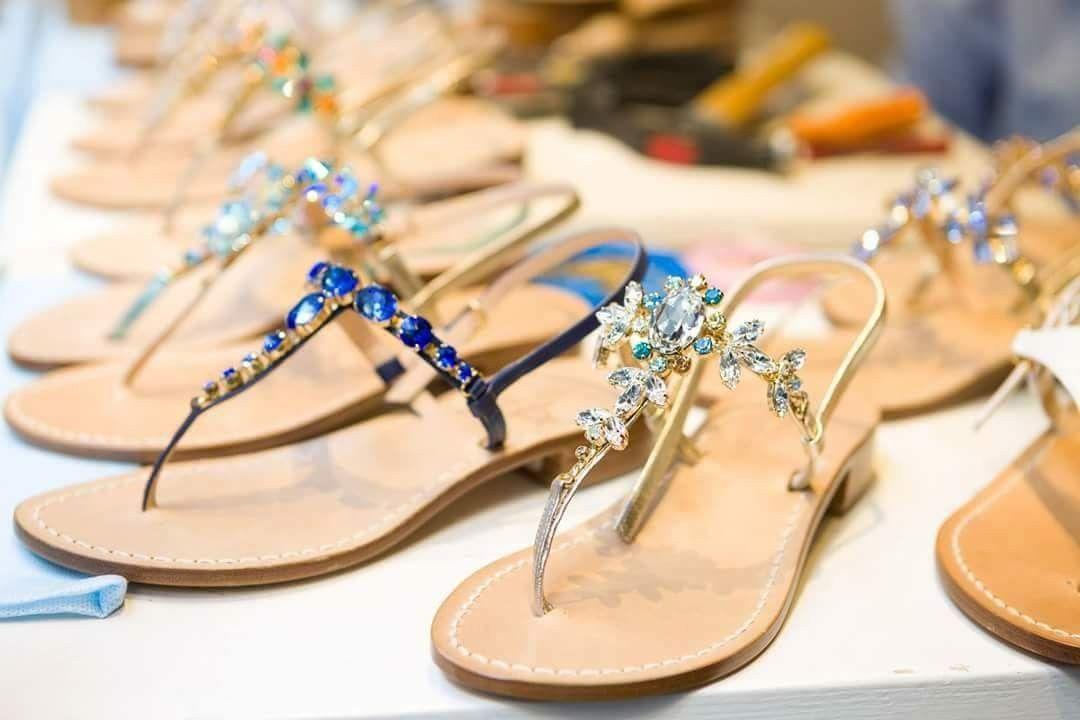 Gioielli da amare per un outfit perfetto. Dea Sandals Capri